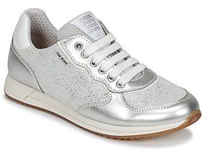 Xαμηλά Sneakers Geox J JENSEA G. D ΣΤΕΛΕΧΟΣ: Δέρμα και συνθετικό & ΕΠΕΝΔΥΣΗ: Ύφασμα & ΕΣ. ΣΟΛΑ: Δέρμα & ΕΞ. ΣΟΛΑ: Καουτσούκ